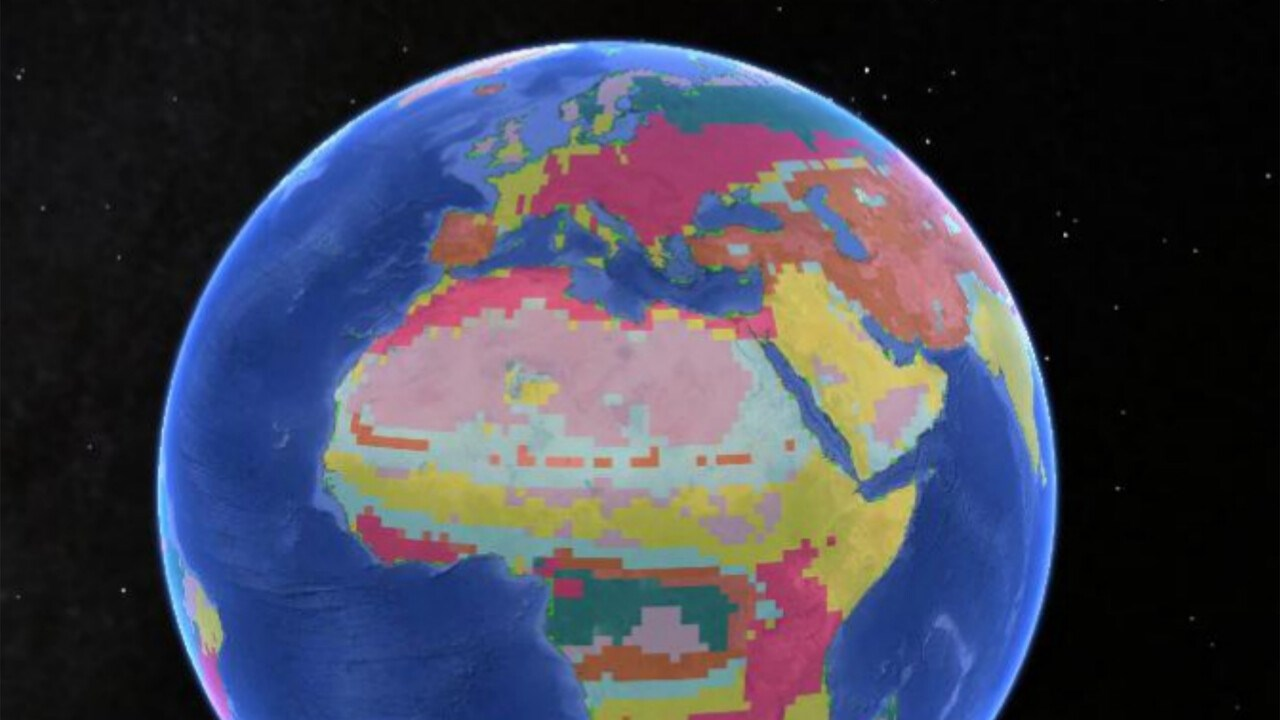 The distribution of vertebrate animals redefines temperate and cold climate regions